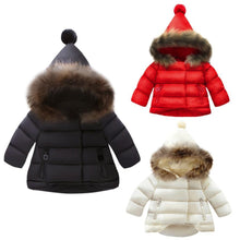 Load image into Gallery viewer, Ball Hooded Warm Jacket (3 Colors - 6 Sizes)  - Kwikibuy Amazon Global