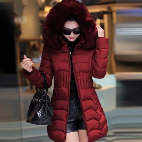 WOMEN'S HOODED DOWN FLEECE COATS (PLUS SIZES AVAILABLE) $39.99 RED - Kwikibuy.com™® Official Site~Free Shipping