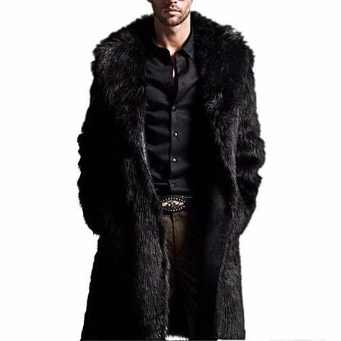 Men's Fox Fur Jackets $69.99 (Black) - Kwikibuy.com™® Official Site~Free Shipping