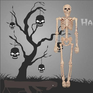 👻 Movable Skeleton Model  - Kwikibuy Amazon Global Online S Hopping Mall Halloween Hanging Props Height: 15.7 inches Material: PP and PVC and ABS