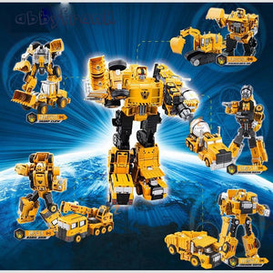 2 in 1 Transforming Construction Vehicle (5 To Choose From)  - Kwikibuy Amazon Global