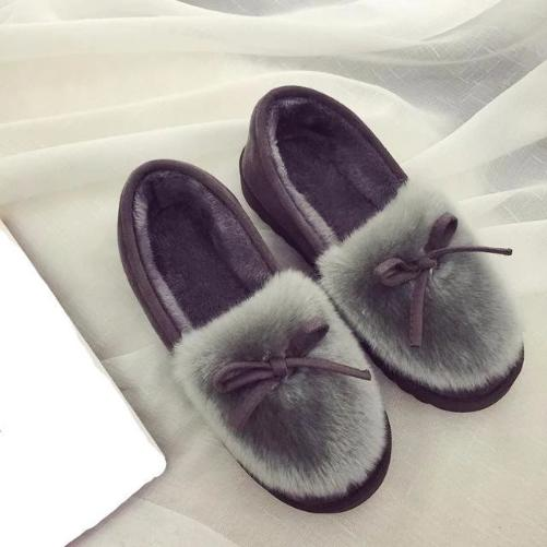 Shop-Now-Feather-Warm-Grey-House-Shoes-Kwikibuy.com-Women-Shoes-Slippers