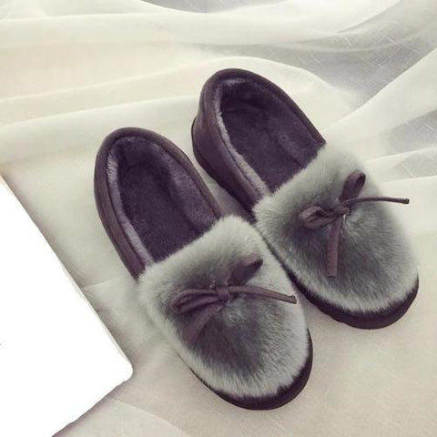 Feather-Warm-House-Shoes-Grey  - Kwikibuy Amazon Global
