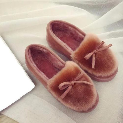 Feather-Warm-House-Shoes-Pink  - Kwikibuy Amazon Global