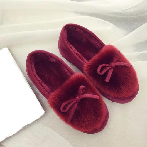 Shop-Now-Feather-Warm-Red-House-Shoes-Kwikibuy.com-Women-Shoes-Slippers