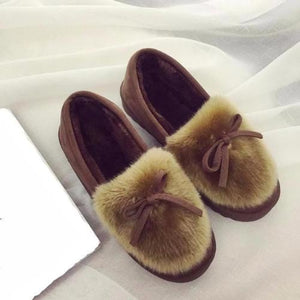 Feather-Warm-House-Shoes-Yellow  - Kwikibuy Amazon Global