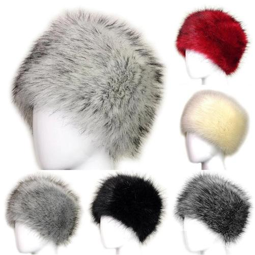 Russian Fox Fur Women's Hat  (6 Colors) | Kwikibuy Amazon | United States | Hats | Cap | Head-wear | Fox | Fur | Women