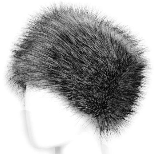Russian Fox Fur Women's Hat  (Grey) | Kwikibuy Amazon | United States | Hats | Cap | Head-wear | Fox | Fur | Women