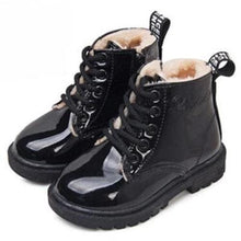 Load image into Gallery viewer, Leather Rain Boots Black w/fur (4 Colors - 5 Sizes)  - Kwikibuy Amazon Global