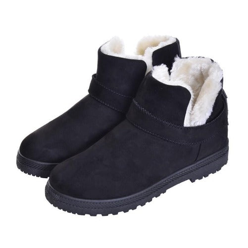 Women's Warm Winter Suede Ankle Platform Boots (Black) | Kwikibuy Amazon | United States | All | Women | Fashion | Clothing | Boots | Shoes