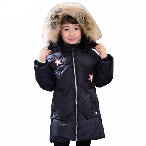 Children-Hooded-Winter-Jacket-Black  - Kwikibuy Amazon Global