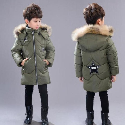 Shop-Now-Children-Hooded-Winter-Jacket-Army-Green-Kwikibuy.com-Children-Clothes-Outer-wear-Coat-Jacket