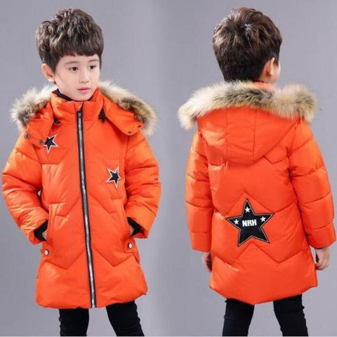 Shop-Now-Children-Hooded-Winter-Jacket-Orange-Kwikibuy.com-Children-Clothes-Outer-wear-Coat-Jacket