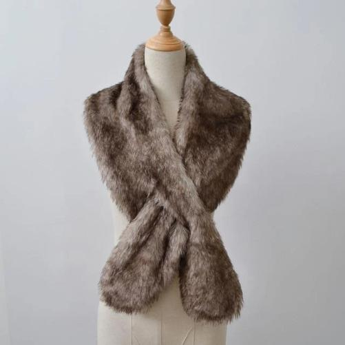 Shop-Now-Luxurious-Stole-Wrap-Brown-Kwikibuy.com-Scarves-Scarf-Wrap-Stole