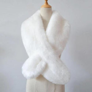 Luxurious Stole Wrap (White)  - Kwikibuy Amazon Global