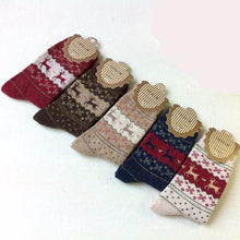 Load image into Gallery viewer, 5 Pairs Pack Cashmere Winter Socks  - Kwikibuy Amazon Global