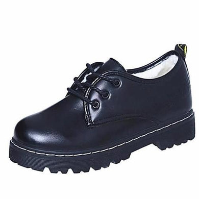 Platform Snow Shoes (Black w/ Cashmere)  - Kwikibuy Amazon Global