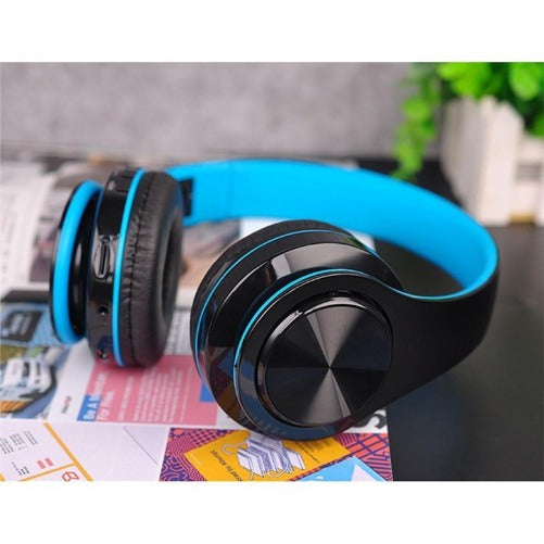 Wireless Bluetooth Stereo Soft Earmuff Headset (Black & Blue 4 colors) - Kwikibuy.com™® Official Site