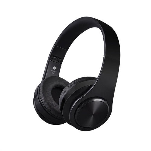 Wireless Bluetooth Stereo Soft Earmuff Headset (Black & Black 4 colors) - Kwikibuy.com™® Official Site