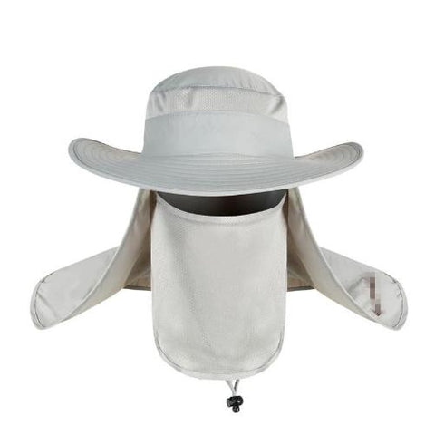Wide Brim Big Bucket Hat (White) - Kwikibuy Amazon
