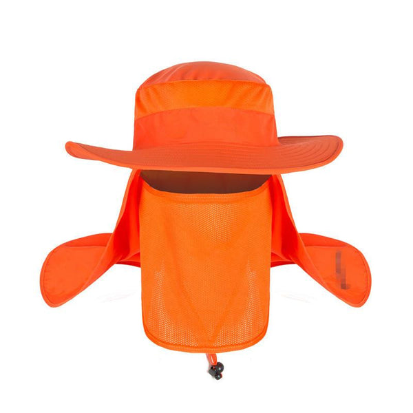 Wide Brim Big Bucket Hat (Orange) - Kwikibuy Amazon
