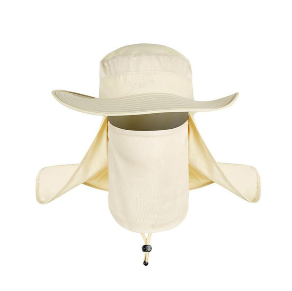 Wide Brim Big Bucket Hat (Champagne) - Kwikibuy Amazon