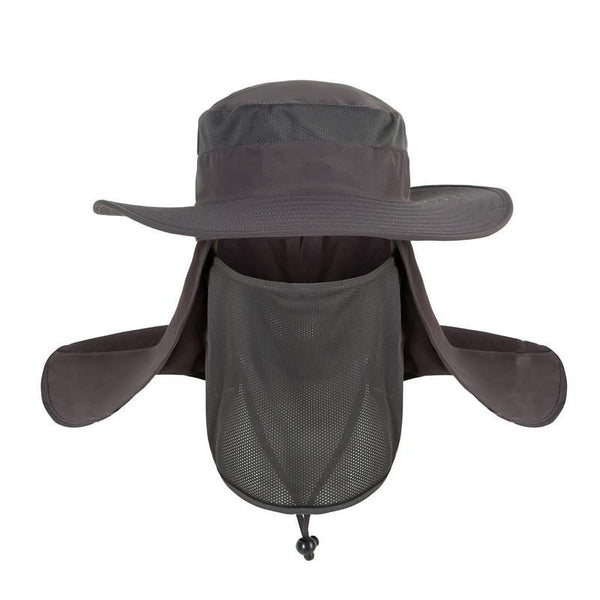 Wide Brim Big Bucket Hat (Grey) - Kwikibuy Amazon