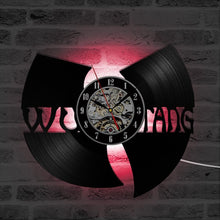 Load image into Gallery viewer, Handmade-Wu-Tang-Clan-LED-3D-Vinyl-Record-Wall-Clock  - Kwikibuy Amazon Global