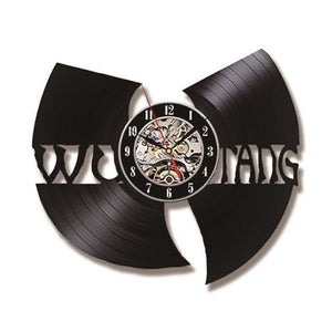 Handmade-Wu-Tang-Clan-LED-3D-Vinyl-Record-Wall-Clock  - Kwikibuy Amazon Global