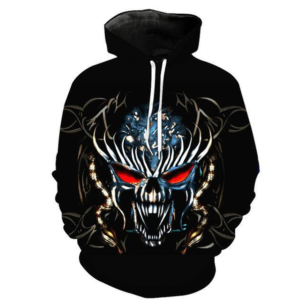 3D Galaxy Print Pullover Hoodies (Daemon) | Kwikibuy Amazon Global | All | Men | Women | Jacket | Outerwear