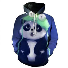 Load image into Gallery viewer, 3D-Galaxy-Print-Pullover-Hoodies-Peaceful-Panda 15 Themes 6 Sizes  - Kwikibuy Amazon Global