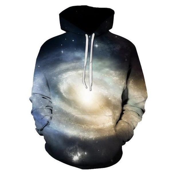 3D Galaxy Print Pullover Hoodies (Galaxy Light ) | Kwikibuy Amazon Global | All | Men | Women | Jacket | Outerwear