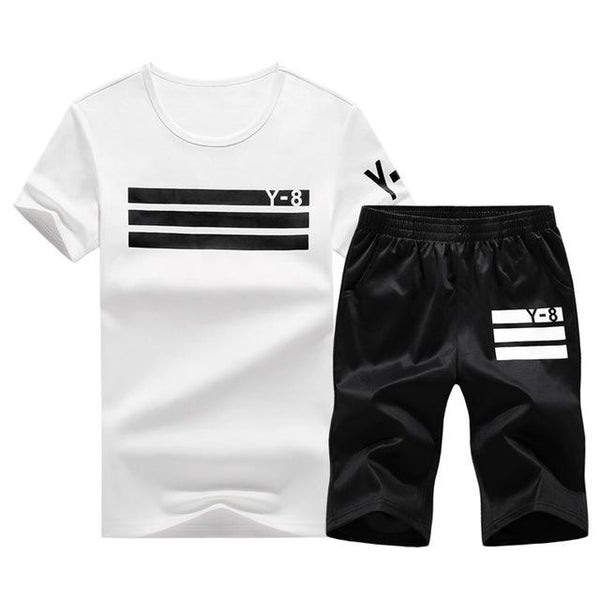 Sporting Short Set (White Black) - Kwikibuy Amazon