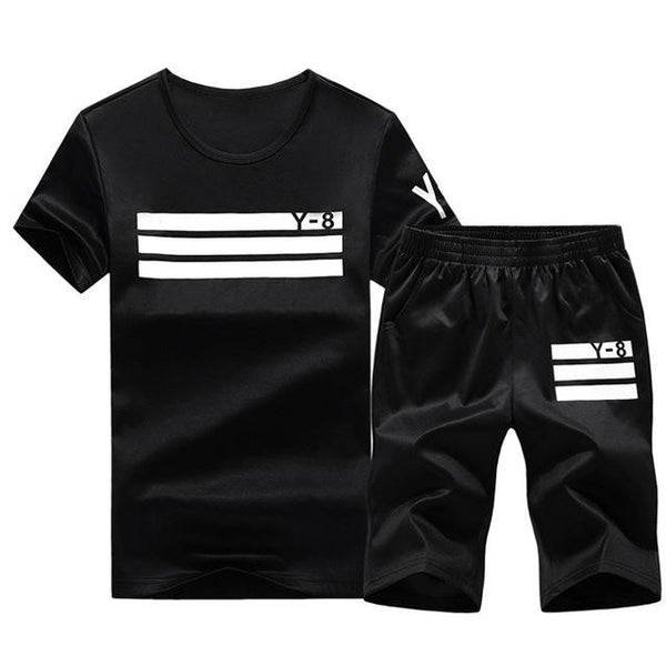 Sporting Short Set (Black White) - Kwikibuy Amazon