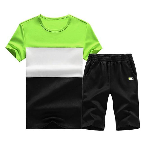 Sporting Short Set (Green White Black) - Kwikibuy Amazon