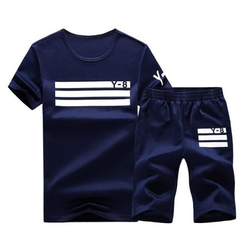 Sporting Short Set (Dark Blue White) - Kwikibuy Amazon