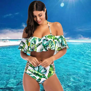 Ruffle Swimsuit Set  - Kwikibuy Amazon Global