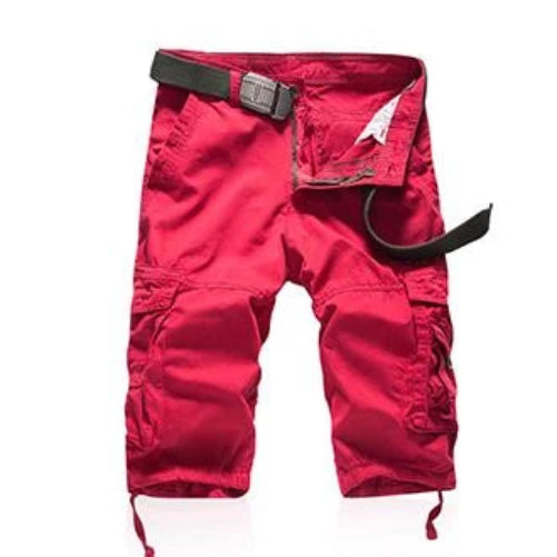 Cargo Shorts (Red)  - Kwikibuy Amazon Global