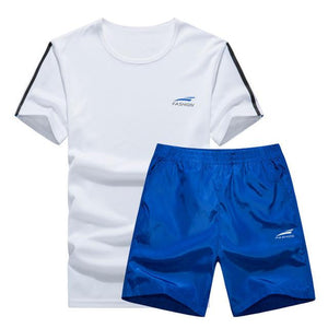 Cool Color Short Set (Blue with Black)  - Kwikibuy Amazon Global