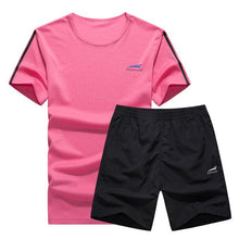 Load image into Gallery viewer, Cool Color Short Set (Pink with Blue)  - Kwikibuy Amazon Global