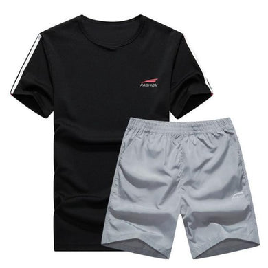 Cool Color Short Set (Black with Grey)  - Kwikibuy Amazon Global