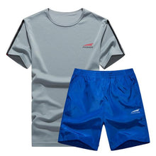 Load image into Gallery viewer, Cool Color Short Set (Black with Grey)  - Kwikibuy Amazon Global