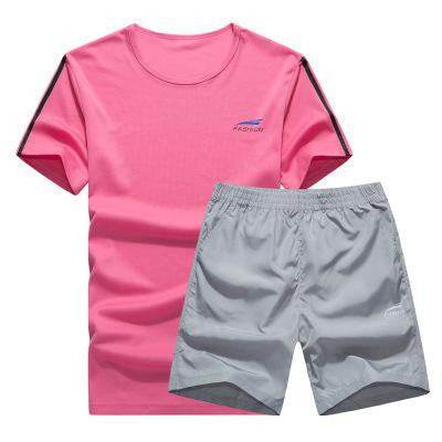 Cool Color Short Set (Pink with Black)  - Kwikibuy Amazon Global