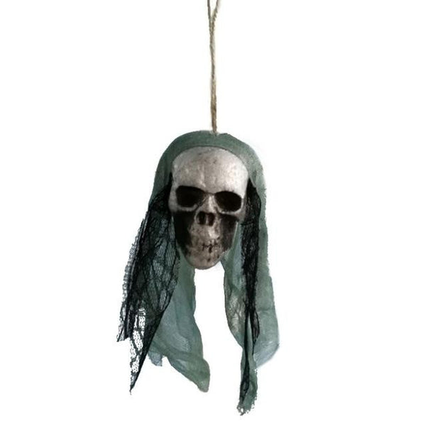 #1 of 8 Hanging Halloween Skulls | Kwikibuy Amazon | United States | Halloween | Hanging | Decoration | figurines | Skull