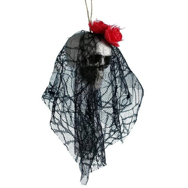 #4 of 8 Hanging Halloween Skulls | Kwikibuy Amazon | United States | Halloween | Hanging | Decoration | figurines | Skull