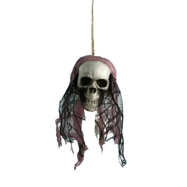 #2 of 8 Hanging Halloween Skulls | Kwikibuy Amazon | United States | Halloween | Hanging | Decoration | figurines | Skull