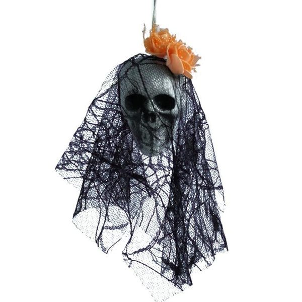 #6 of 8 Hanging Halloween Skulls | Kwikibuy Amazon | United States | Halloween | Hanging | Decoration | figurines | Skull