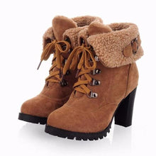 Load image into Gallery viewer, High Heel Snow Boots (10 Sizes - 5 Colors)  - Kwikibuy Amazon Global