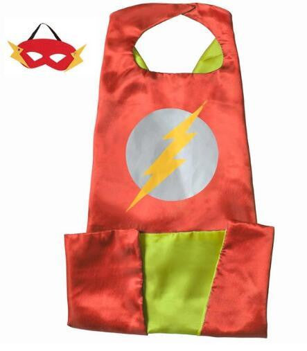 Superhero Cape and Mask Set (Flash) | Kwikibuy Amazon | United States | Halloween | Super Hero | Capes | Masks