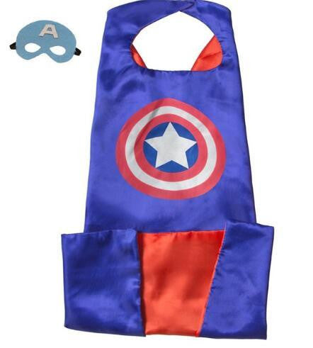 Superhero Cape and Mask Set (Captain) | Kwikibuy Amazon | United States | Halloween | Super Hero | Capes | Masks